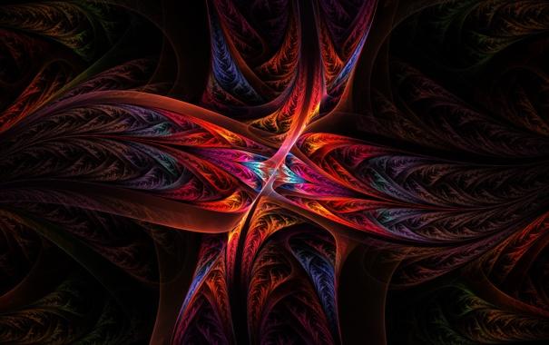 Фото обои Потоки, Цвета, Abstract, Metaphysical Fountain