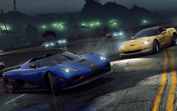 Фото обои drift, Need for Speed, cars, nfs, Most Wanted 2