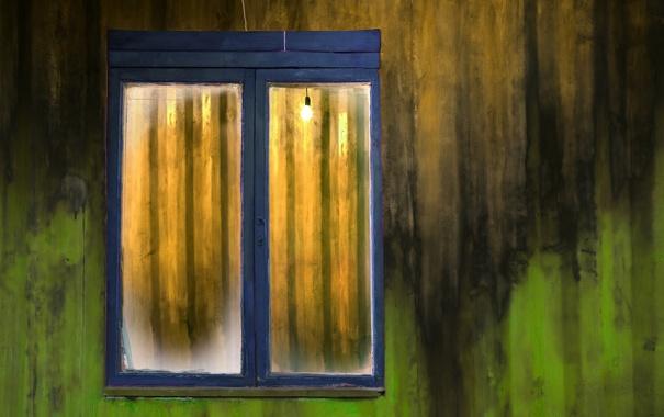 Фото обои фон, окно, стена