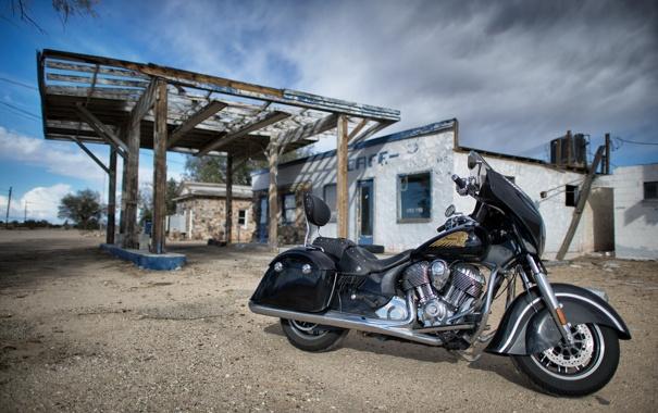 Фото обои Indian Chieftain, мотоцикл, Вождь, байк, легенда, стиль