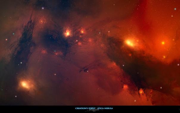 Фото обои космос, созвездие, nebula