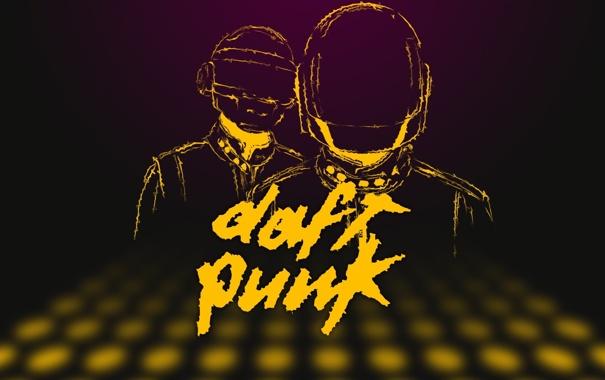 Фото обои Вектор, Музыка, Стиль, Music, Музыканты, Дафт Панк, Duft Punk