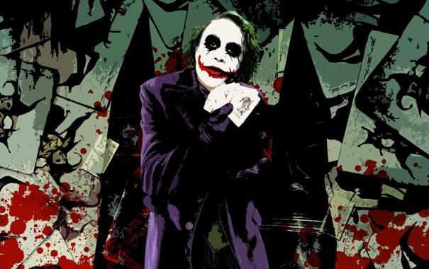 Джокер хит леджер картинки 7