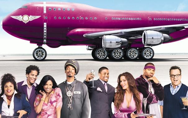 Фото обои самолет, актеры, soul plane