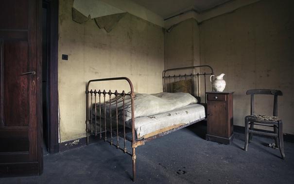 Фото обои кровать, интерьер, спальня