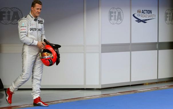Фото обои Mercedes AMG, Michael Schumacher