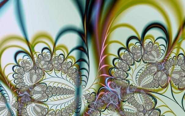 Фото обои узор, кружева, переплетение, ажур