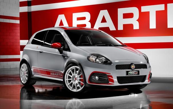 Фото обои Машина, Car, Автомобиль, Cars, Fiat, Фиат, Supersport