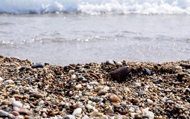 Фото обои море, пляж, камни