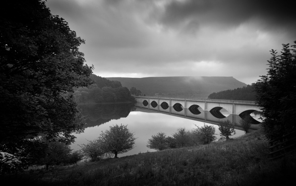 Фото обои city, город, фотограф, photography, водохранилище, Lies Thru a Lens, Ladybower Reservoir
