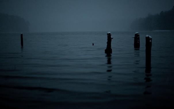 Фото обои вода, ночь, фото, пейзажи