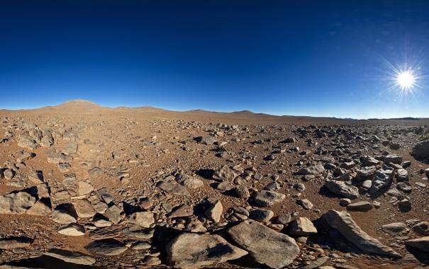 Фото обои пустыня, Солнце, Чили, Южная, Америк