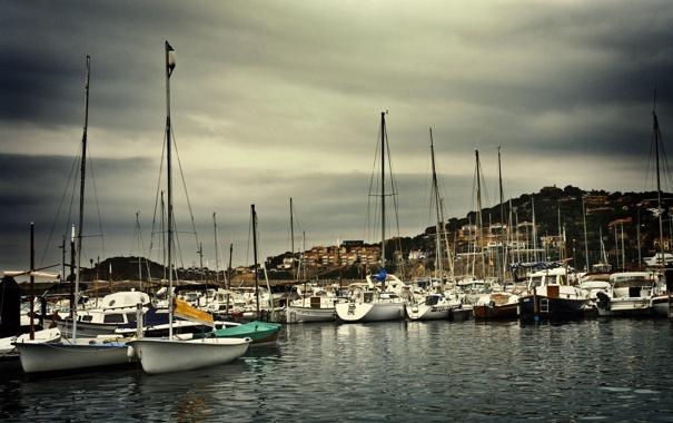 Фото обои яхты, лодки, причал, порт, photographer, Mariluz Rodriguez