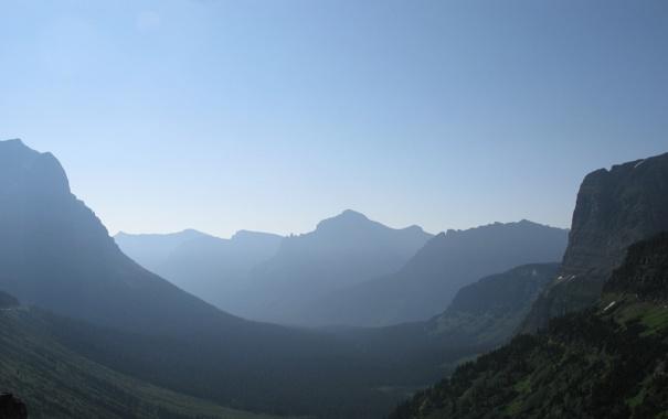 Фото обои деревья, горы, фото, пейзажи, вид, леса, места