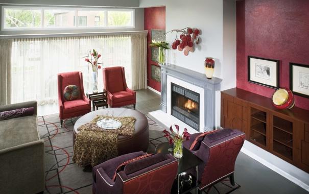 Фото обои дизайн, дом, стиль, вилла, интерьер, камин, коттедж