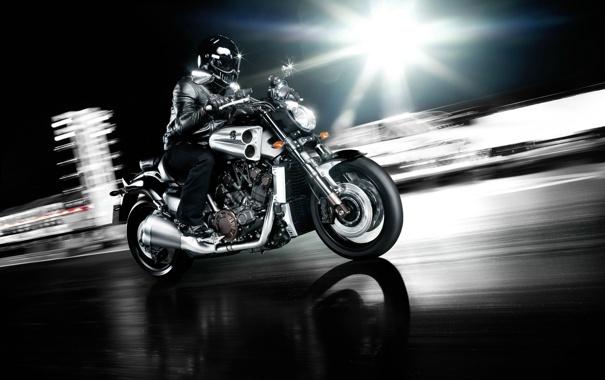 Фото обои мотоциклы, мото, Yamaha, moto, motorcycle