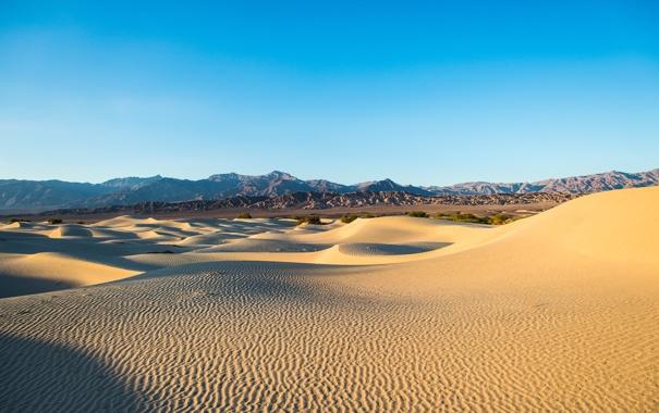 Фото обои песок, природа, пустыня, дюны