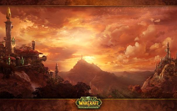 Фото обои игра, эльфы, game, Blizzard, Wow, world of warcraft, the burning crusade