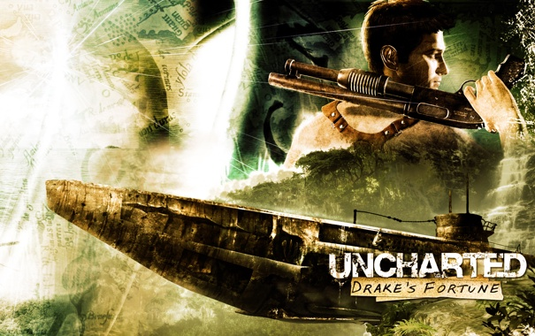 Фото обои uncharted, видеоигры, JaKhris