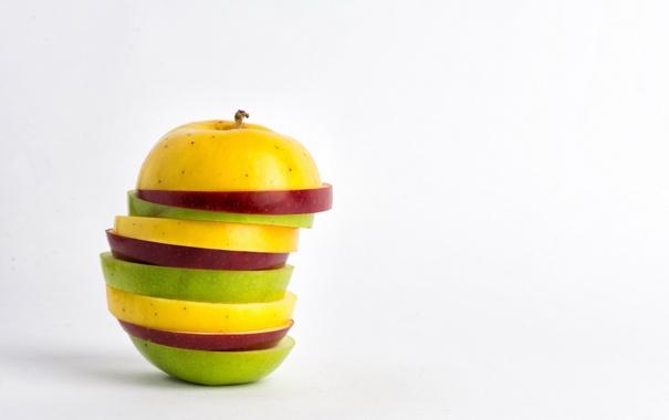 Фото обои еда, яблоко, макро