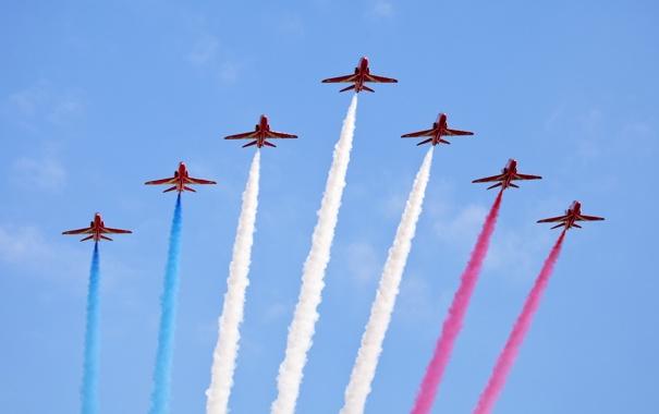 Фото обои небо, авиация, самолёты