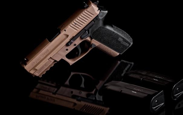 Фото обои пистолет, оружие, Sig Sauer, SP2022, Sig Pro