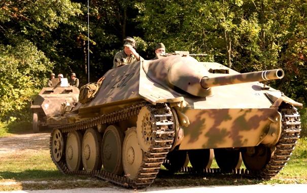 Фото обои установка, самоходная, артиллерийская, немецкий, средний, бронетранспортёр, лёгкая