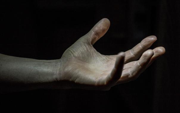 Фото обои фон, человек, рука