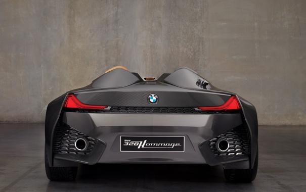 Фото обои BMW, задом, Hommage, 328