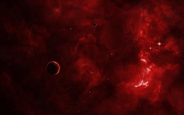 Фото обои звезды, планеты, свечение, nebula