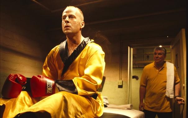Фото обои обои, бокс, брюс уиллис, Криминальное чтиво, pulp fiction, боксёр, Бутч