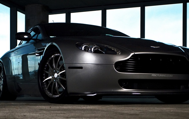 Фото обои Aston Martin, V8 Vantage, 360forged
