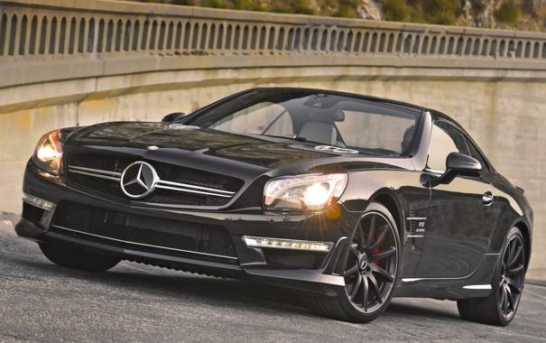 Фото обои фон, Mercedes-Benz, Мерседес, AMG, АМГ, SL65