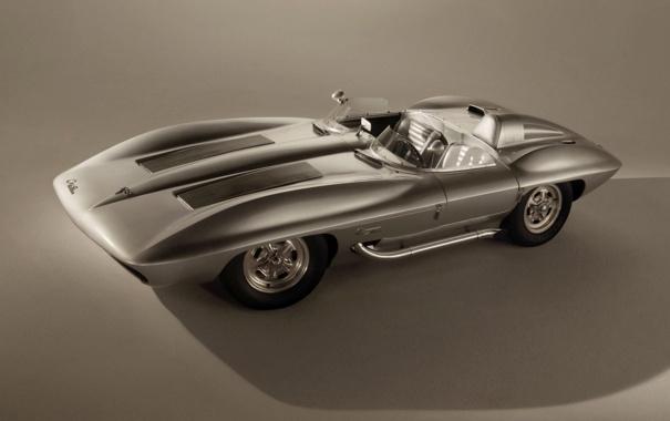 Фото обои Concept, Corvette, Legends, Stingray Racer