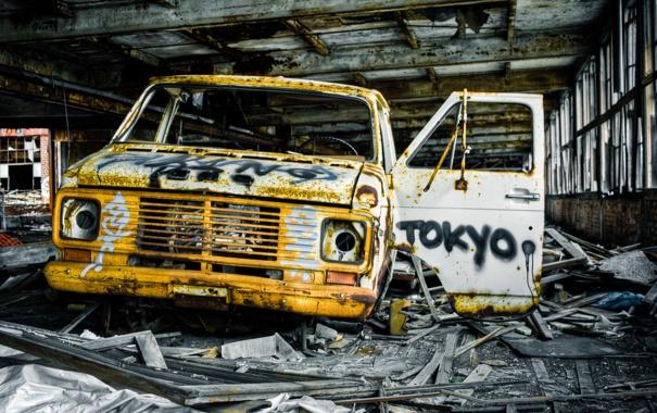 Фото обои Tokyo, GMC, Dump