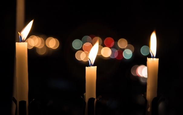 Фото обои фон, свечи, Memories