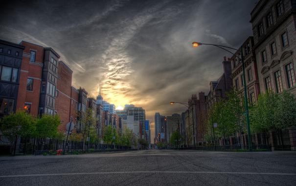 Фото обои дорога, авто, машины, города, улица, дороги, дома