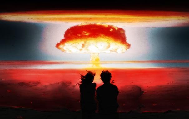 Ядерный взрыв обои для рабочего стола