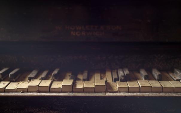 Фото обои музыка, пианино, Silent Keys