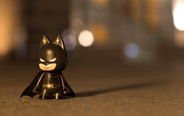Фото обои макро, бэтмен, герой, фигурка