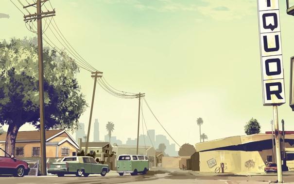 Фото обои игра, game, ps3, xbox 360, gta, Grand Theft Auto V, GTA V