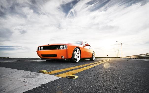 Фото обои Challenger, оранж, Option5