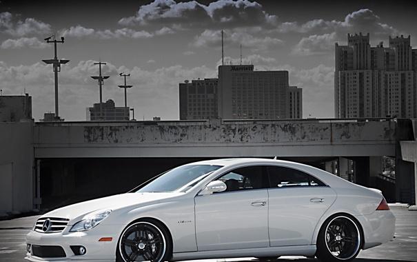 Фото обои CLS, AMG, Mercedes Benz CLS