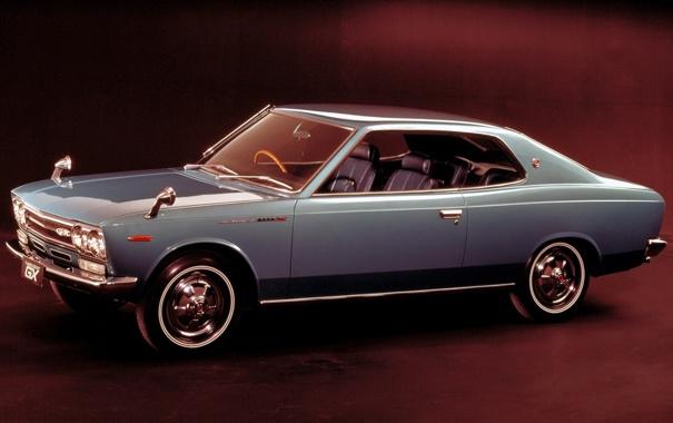 Фото обои Nissan, классика, Laurel