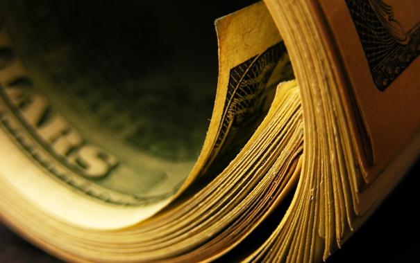 Фото обои dollar, paper, currency