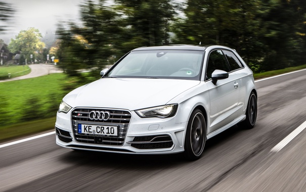 Фото обои Audi, ауди, ABT, 2013