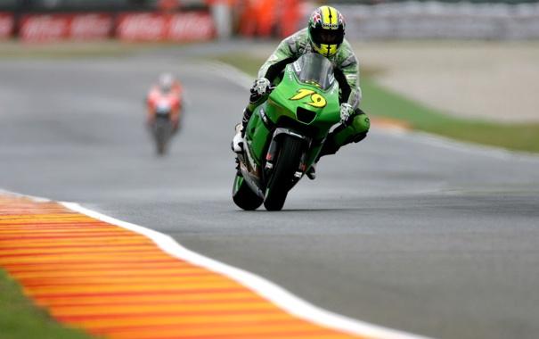 Фото обои мотоциклы, спорт, Kawasaki, RACE Mugello, MOTO GP