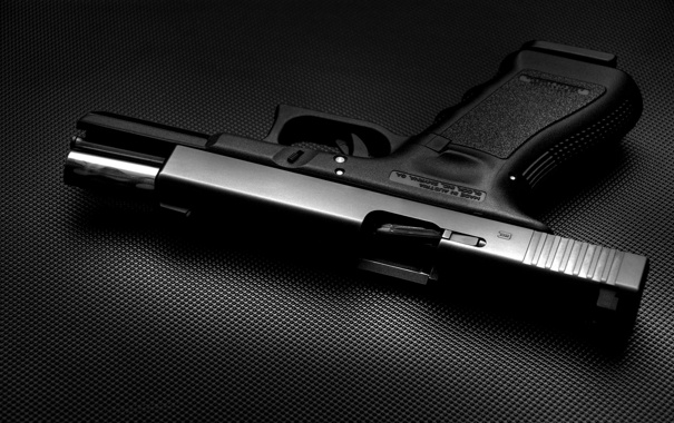 Фото обои metal, gun, glock