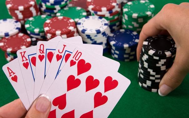 Фото обои игра, покер, казино