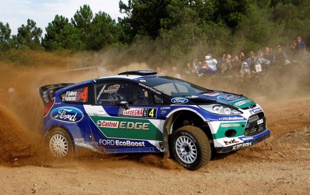 Фото обои Ford, Форд, WRC, Fiesta, Фиеста